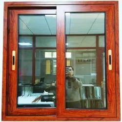 Residential UPVC Sliding Windows, Glass Thickness: 6 Mm