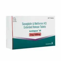 Kombiglyze XR Tablet (Saxagliptin+Metformin)