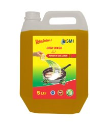 Asmi 5 L Dish Wash Gel, Packaging Type: Plastic Can, for Dish Washing