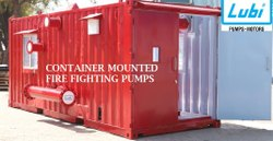 CONTAINER MOUNTED FIRE FIGHTING PUMPS