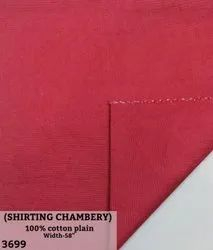 Chambray 100% cotton shirting fabrci
