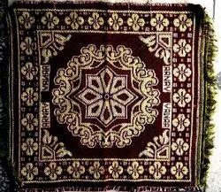 Multicolor Cotton Pooja Asan Mats 20x20 Inches Woven