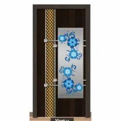 84 Inch Wooden Membrane Door