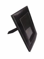 Black Leather Photo Frame, For Gift