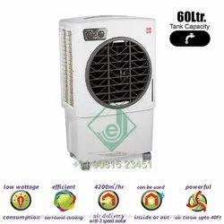 Cello Alps 60 Litres Plastic Desert Air Cooler (white)