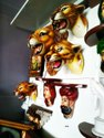 Hanging Wall Art - Lion Head