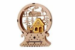Gift Items Like Wooden Showpiece, Packaging Type: Box
