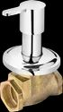 Brass Plantex Flora Flush Cock With Adjustable Wall Flange 25 Mm. (h.t)