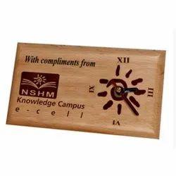 Corporate Gift Wooden Clock