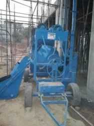 Manual Loading With Hoper Concrete Mixer Machine
