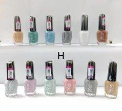 Pastel Shades Glossy Matte Nail Polish, Bottle, Packaging Size: 6 Ml