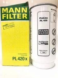 PL420X Fuel Water Separator Mann Filter -P1302040