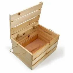Pine Wood Packing Box, For Packaging, Size(LXWXH)(Inches): 2l*1.5w*1h Feet
