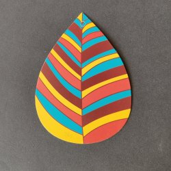 Cardboard Printed Garment Hang Tag, For Garments, Packaging Type: Packet