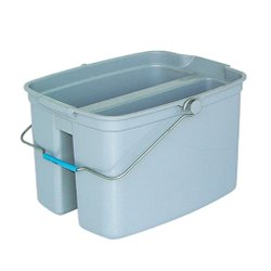 Plastic Twin Mop Bucket for Cleaning