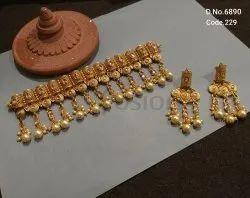 Fusion Arts Antique Choker Necklace Set