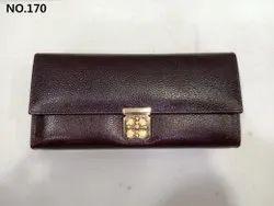Ladies Tan Leather Wallet