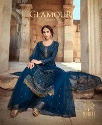 Mohini Fashion Glamour Vol 90 Georgette With Work Designer Salwar Suit Catalog