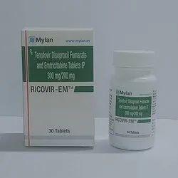 Ricovir 300 Mg Tablet ( Tenofovir Disoproxil Fumarate )