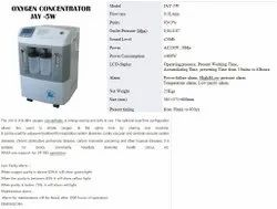 Oxygen Concentrator (Jay-5w) Dual Flow