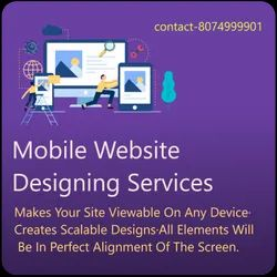 PHP/Java Script Responsive Mobile Friendly Websites Designing Service, With 24*7 Support