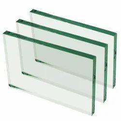 Transparent Rectangular Float Glass, Glass Thickness: 12 Mm