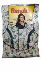 Night Dress Sleepwear Floral Printed Nighty, Size: Medium