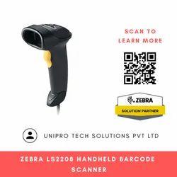 Zebra LS2208 Handheld Barcode Scanner