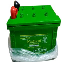 Green Pearl Inva Short Tubular Battery, 12 V, Capacity: 100 Ah
