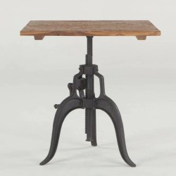 4 Seater Iron Dining Table