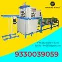 Fully Automatic Double Die Silver Thali Making Machine