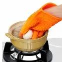 Silicone Anti-scald Glove Microwave Oven Mitts Pot Holder