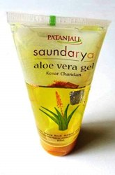 Patanjali Saundarya Aloe Vera Gel Kesar Chandan 150Ml(free Worldwide Shipping).