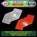 S Shape Synthetic Silicone Plastic Mould