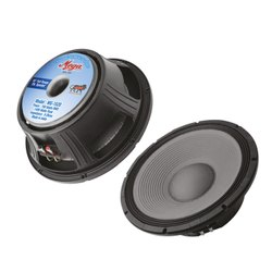 金属黑色Mega MS-1520 1400 Watts 15 PA扬声器
