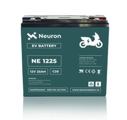 Neuron Make E Bike Battery 12 Volts, 25AH