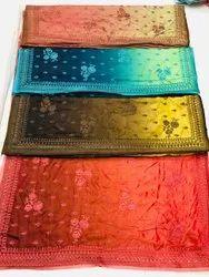 Double Shade Silk Saree