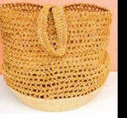 SigmaScott Natural Handicraft Sabai Sea Kauna Grass Laundray Bag