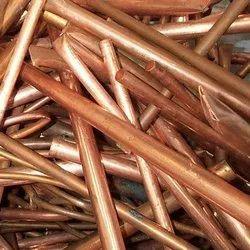 Standard 99 % Copper Pipe Scrap, Grade: AA, Packaging Size: Random