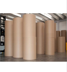 Brown Kraft Paper, Packaging Type: Roll, 70 To 450 Gsm