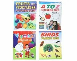 3-7 Year Kids Colouring Book
