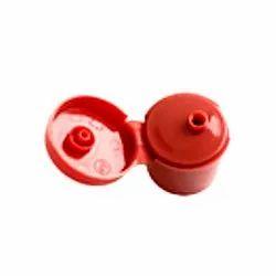Red Flip Top Cap