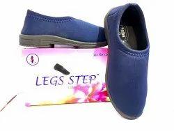 Legs Step Ladies Casual Ladies Canvas Shoes, Size: UK Size
