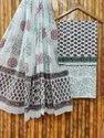 Printed Cotton Dupatta Suits