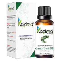 KAZIMA 100% Pure Natural & Undiluted Curry Leaf  Oil