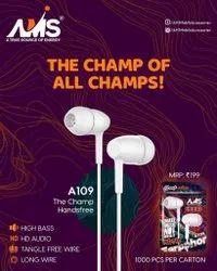 AMS Wired Handsfree Earphone