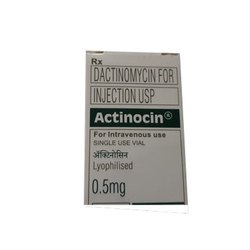 Actinocin - Dactinomycin  0.5 Mg