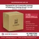 FIBERBOARD U N APPROVED BOX