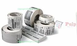 Pulp Thermal Transfer Labels 75 X 38 Mm (3 X 1.5 Inch), 1 Up Chromo Tt75x38x1