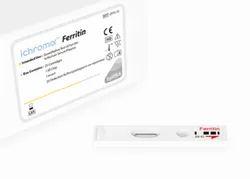 Plastic Ferritin Ichroma Test Kit, For Clinical, Serum And Plasma